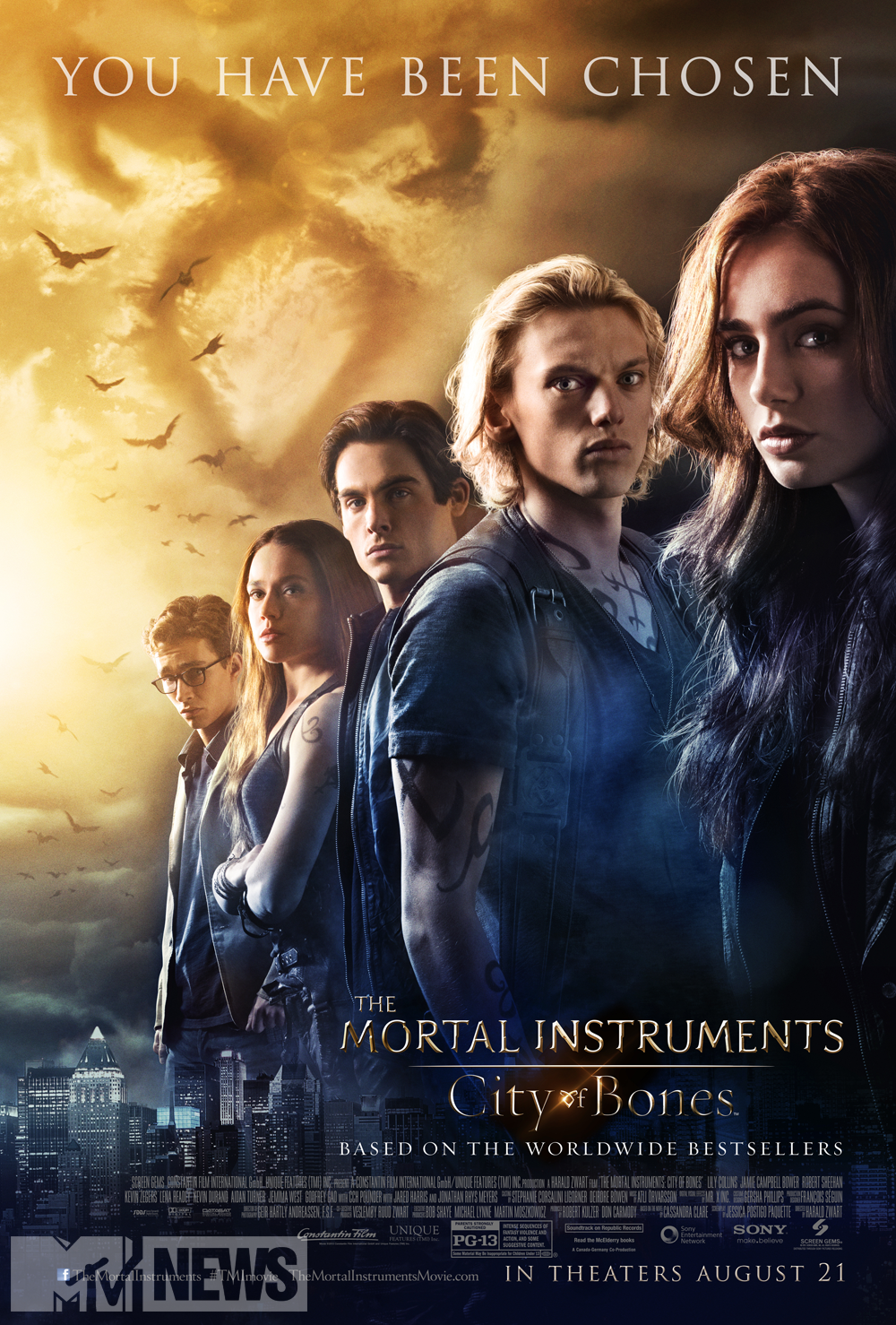 When Books Become Movies:  City of Bones