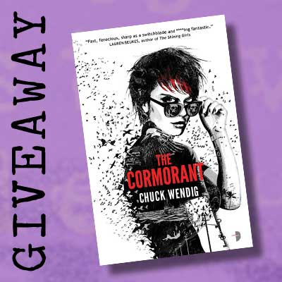Giveaway:  The Cormorant by Chuck Wendig