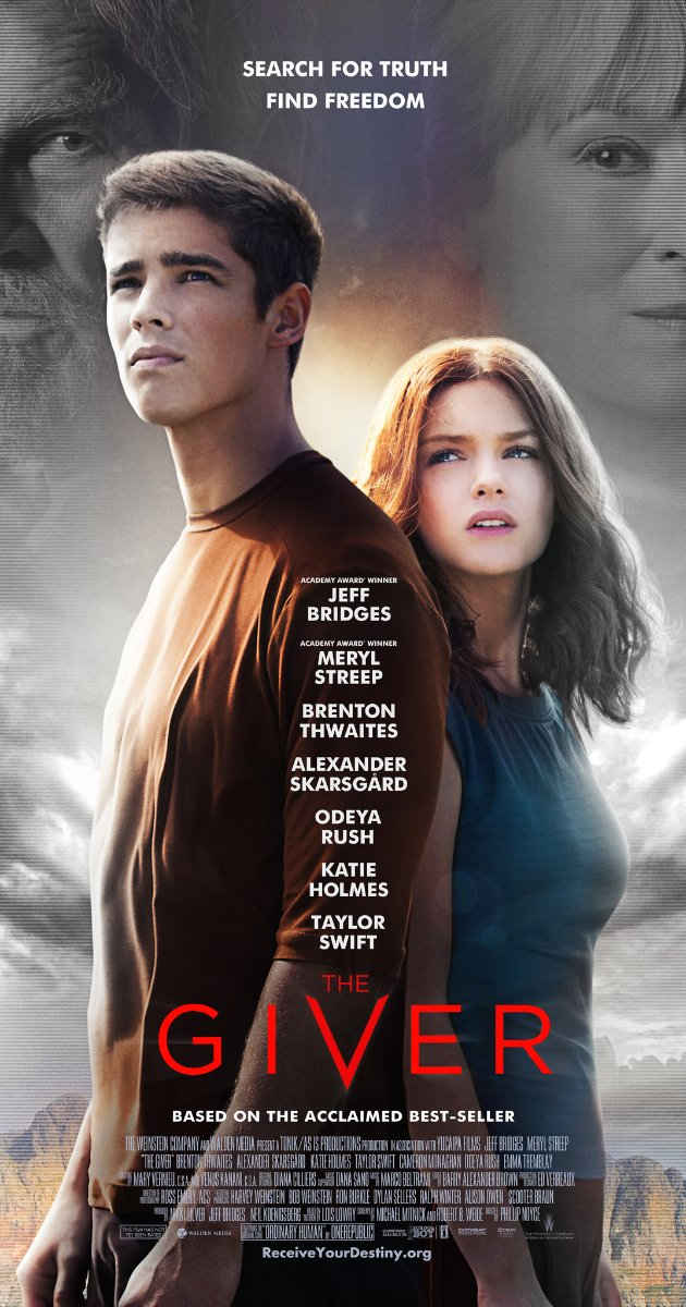 When Books Become Movies:  The Giver