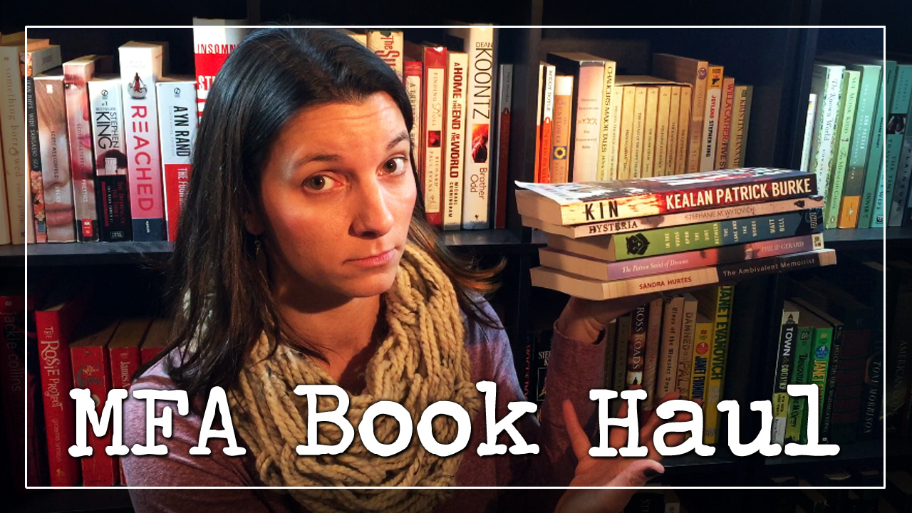 Booktube Video: MFA Book Haul