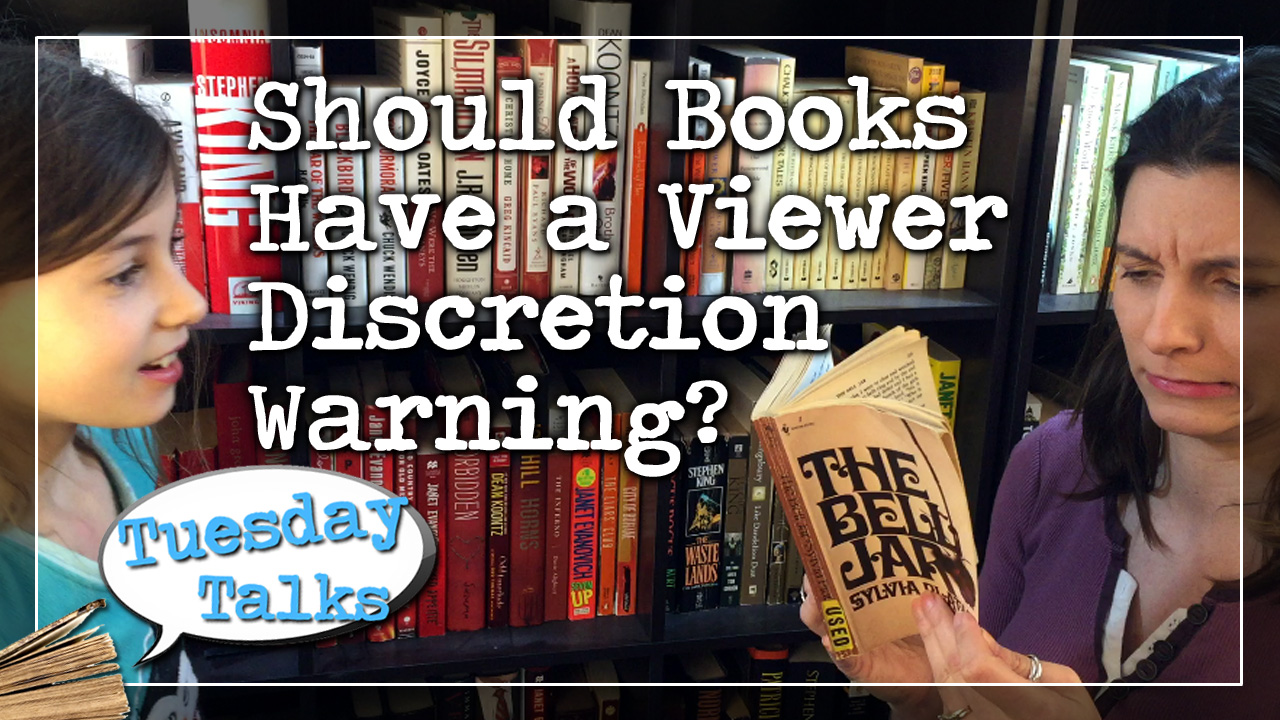 Tuesday Talks: Should Books Have a Viewer Discretion Warning?