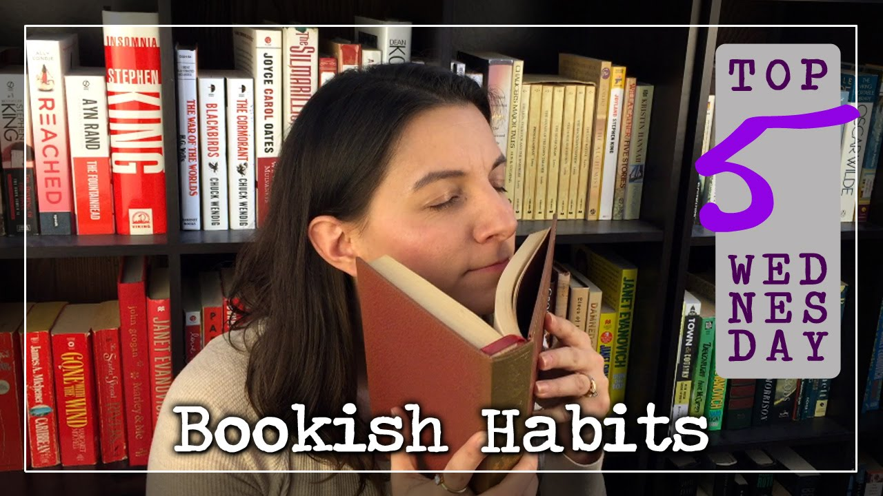 Top 5 Wednesday: Bookish Habits