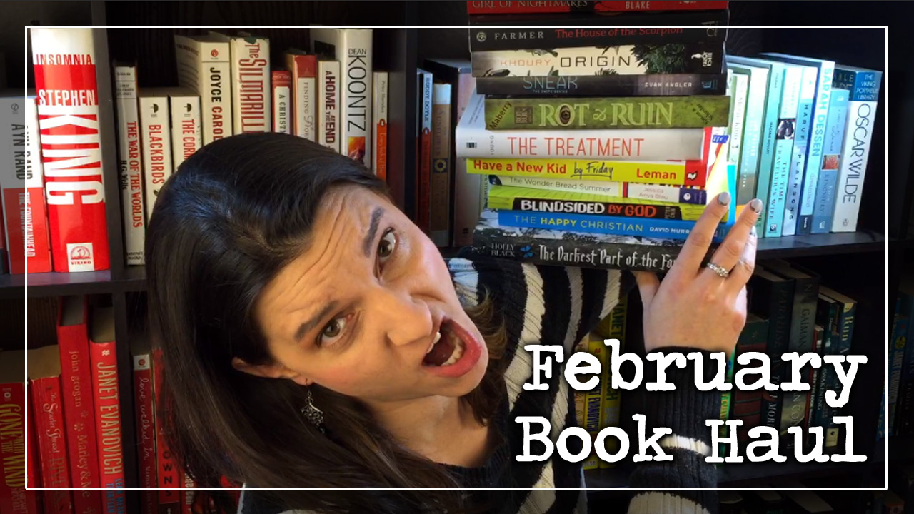 BookTube Video: February Book Haul