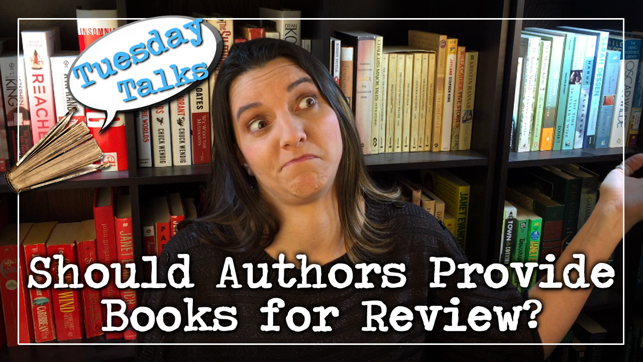 Tuesday Talks:  Should Authors Provide Books for Review?