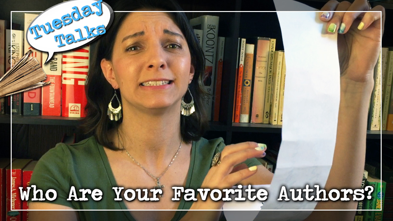 Tuesday Talks:  Who Are Your Favorite Authors?