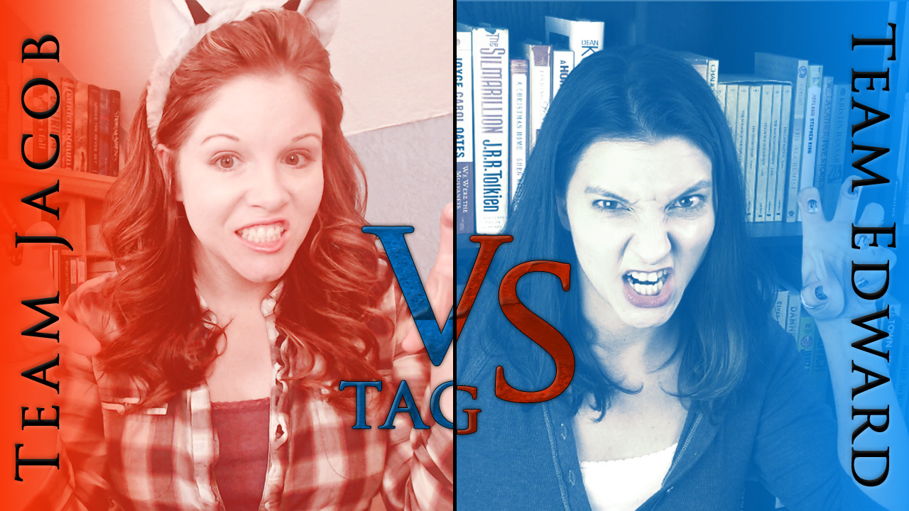 BookTube Video: Team Jacob vs. Team Edward Tag