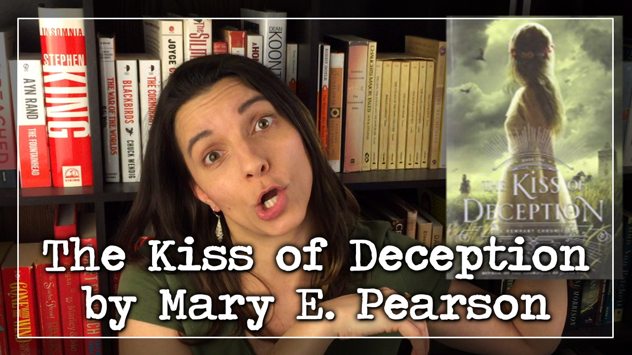 BookTube Video:  The Kiss of Deception by Mary E. Pearson