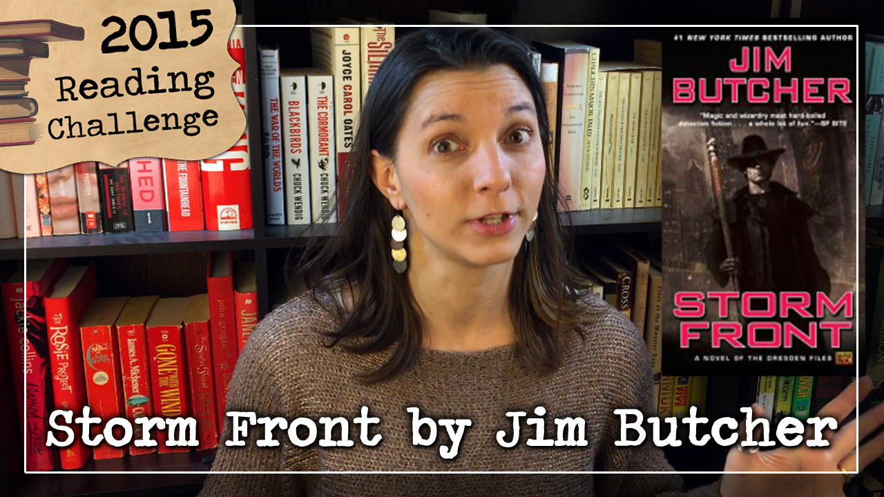 BookTube Video: Storm Front by Jim Butcher